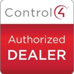 Control4 authorized dealer logo. Control4 authorized dealer Denver