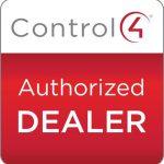 Control4 authorized dealer logo. Control4 authorized dealer Denver