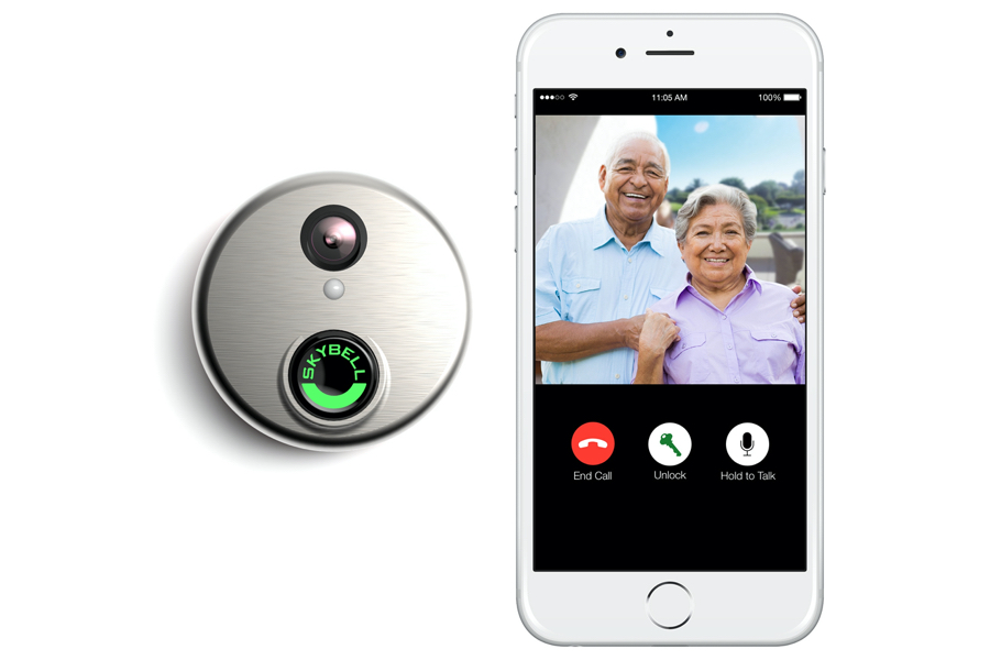 Skybell and doorbell mobile mobile app