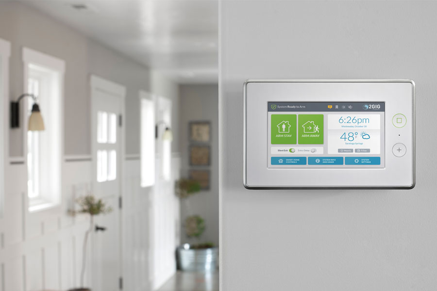 2GIG Security System Panel